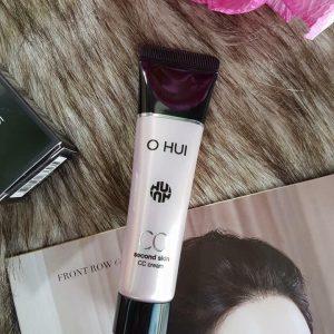 """Kem Nền Ohui Second Skin CC Cream – """"bảo bối"""" make up trong những ngày hè oi bức!"""