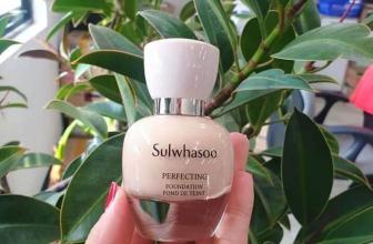 Kem nền Sulwhasoo Perfecting Foundation SPF17/PA+chất lượng xứng đáng