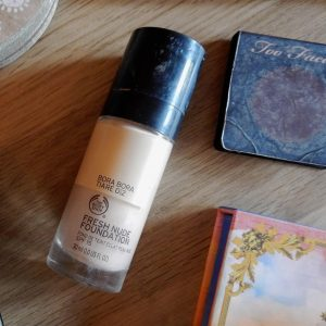 [Review] Kem nền The Body Shop Fresh Nude Foundation SPF15