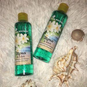 Yves rocher Lagoon Hair & Body Wash hương thơm quyến rũ cho body mê ly