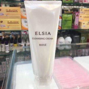 Kem tẩy trang Kosé Elsia Cleansing Cream – 2 trong 1 cho làn da sáng sạch