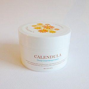 Những công dụng của kem tẩy trang Missha Calendula Deep Cleansing Cream mà bạn phải biết !