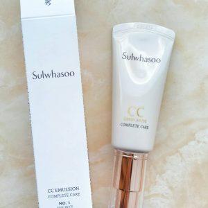 Kem trang điểm Sulwhasoo CC Emulsion Complete Care có tiện lợi như bạn nghĩ?