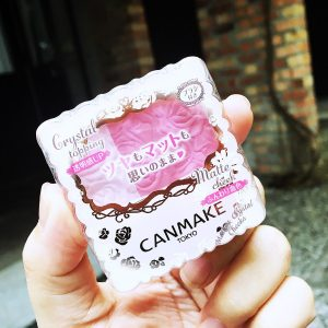 Review phấn má hồng Canmake Matte & Crystal Cheeks