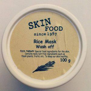 Mặt nạ Skinfood mờ vết thâm Rice Mask Wash-off – người bạn mỗi ngày!
