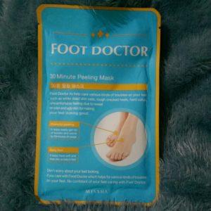 Skincare da chân với mặt nạ MISSHA FOOT DOCTOR 30 MINUTE PEELING MASK