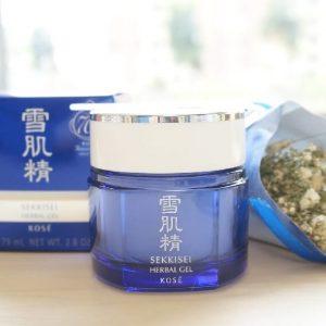 Mặt nạ ngủ Kose Sekkisei Herbal Gel – thần dược cho làn da