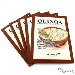 Mặt nạ giấy SKINFOOD cung cấp ẩm Everyday Quinoa Facial Mask Sheet, cấp ẩm tức thì!