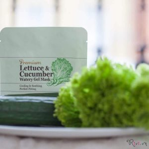 Mặt nạ SKINFOOD PREMIUM LETTUCE & CUCUMBER WATERY GEL MASK