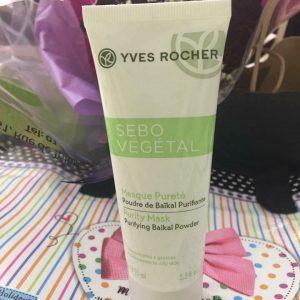 Mặt nạ thanh lọc da Yves Rocher Sebo Vegetal Purity Mask – Nói lời tạm biệt với mụn cám và mụn đầu đen!