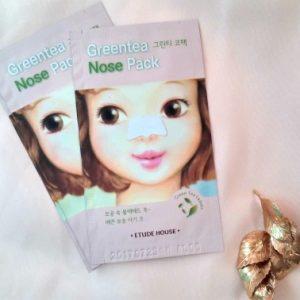 """[Review] Miếng lột mụn vùng mũi ETUDE HOUSE Green Tea Nose Pack – Giá rẻ, nhưng chất lượng có """"rẻ""""?"""