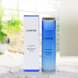 Có nên tin tưởng vào nước hoa hồng Skin Refiner Moisture của hãng mỹ phẩm Laneige ?