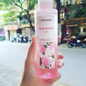 Bí quyết làm đẹp đơn giản mỗi ngày bằng nước hoa hồng không cồn Mamonde Rose Water