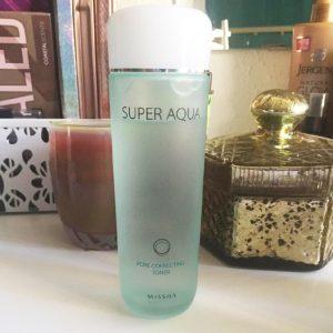 Bạn đã biết bao điều về nước hoa hồng Missha Super Aqua Pore Correcting Toner ?