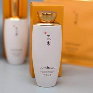 """Nước hoa hồng thần thánh """"không mua không được"""" Sulwhasoo Concentrated Ginseng Renewing Water"""