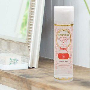 Nước tẩy trang Canmake Refresh Cleansing Water (All Skin Type) làm sạch da phong cách Nhật Bản