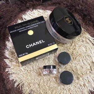 Chanel Bronzing Makeup Base phép thử cho lớp make up phong cách Âu Mỹ