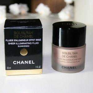"""""""Bí kíp cho lớp nền hoàn hảo"""" Chanel Sheer Illuminating Fluid, kem nền siêu tự nhiên"""