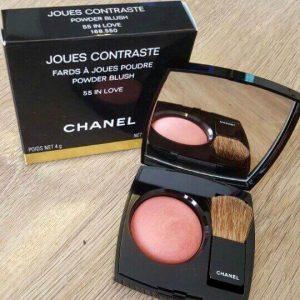 Cho gương mặt thêm cuốn hút với phấn má hồng Chanel Joues Contraste Powder Blush
