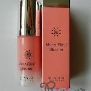 [Review] Phấn má hồng Missha The Style Sheer Fluid Blusher