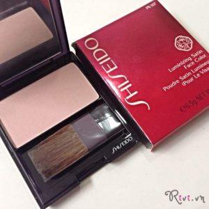 Phấn má hồng Shiseido Trang điểm mặt Luminizing Satin Face Color