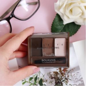 Review bảng phấn Boujois Brow palette 3 in 1!