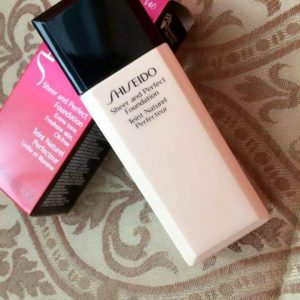 [REVIEW] phấn nền Shiseido Sheer and Perfect Foundation