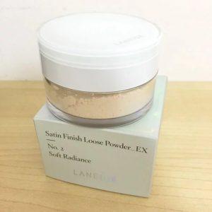 Xem xem phấn phủ Satin Finish Loose Powder_EX có những công dụng ngon nghẻ nào ?