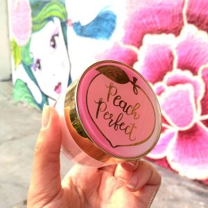 Ngại gì da dầu khi có em phấn phủ  Too Faced Peach Perfect Mattifying Setting Powder