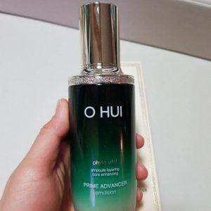 Phục hồi da hư tổn, da trị mụn hiệu quả với sữa dưỡng Ohui Prime Advencer Emulsion
