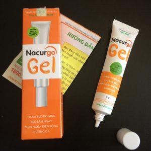 [Review] Gel trị sẹo Nacurgo Gel trị mụn, sẹo thâm có tốt không ?