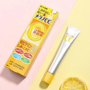 Trị nám và thâm mụn hiệu quả cùng tinh chất vitamin C CC Melano serum