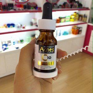 Acnes C10-trị-trị mụn hiệu quả nhất-đem lại cho bạn làn da đẹp, sạch mụn như ý muốn.