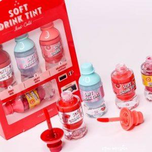 Soft drink tint – thỏi son cho những ngày hè năng động sẽ đốn tim bạn ngay từ cái nhìn đầu tiên