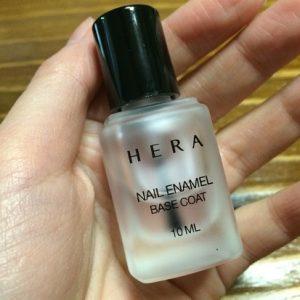 Sơn móng tay HERA Makeup NAIL BASE COAT nail xinh cần base lung linh .