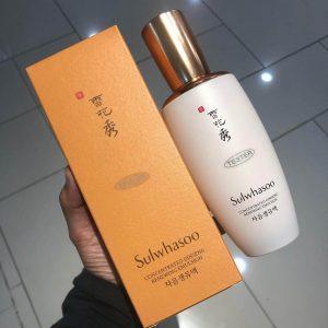 Lão hóa ư? Đừng lo, đã có sữa dưỡng săn chắc da Sulwhasoo Concentrated Ginseng Renewing Emulsion