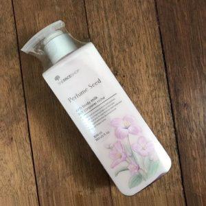 Perfume Seed Rich Body Milk – Sữa dưỡng thể trắng da từ The Face Shop