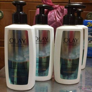 [Review] Sữa rửa mặt  trắng da Olay Regenerist Luminous Brightening Foaming Cleanser