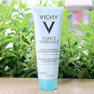 Da dầu nhạy cảm đừng lo vì đã có Vichy Purete Thermale Hydrating And Cleansing Foaming Cream