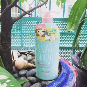 [Review] Sữa tắm Karmart Body Cathy Doll Snail Bright Snail Body Bath 750ml .