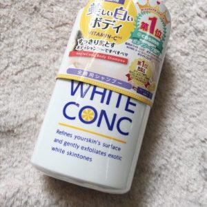 Sữa tắm trắng da White ConC – thêm một sản phẩm chất lượng đến từ xứ sở hoa anh đào
