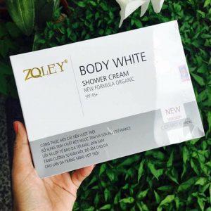 Làm trắng da đơn giản tại nhà với kem tắm trắng Zoley Body White Shower Cream