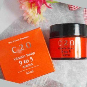 3CE Trị nám [C20 OST] Vitamin Sleep 9 to 5 Crema – nâng niu làn da – tránh xa mụn, thâm, nám