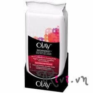 Tẩy da chết Olay Facial Cleansers MICRO-EXFOLIATING WET CLEAN CLOTHS