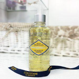 Mở đầu quá trình skincare da khô với dầu tẩy trang Loccitane Immortelle Oil Make-up Remover
