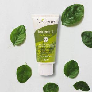 """Tea Tree Oil Facial Mask nhà Vedette – """"cây nhà lá vườn"""" nhưng chất lượng không hề tầm thường"""