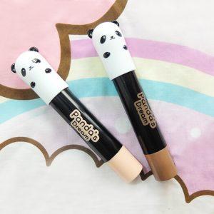 Tony Moly PANDA DREAM CONTOUR STICK 01 HIGHLIGHTER bắt sáng lớp makeup cực đơn giản.