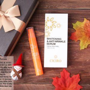 Whitening & Anti Wrinkle Serum Ciciro giúp bạn sở hữu làn da nàng Bạch Tuyết