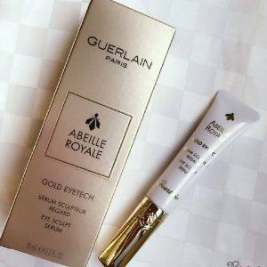 Tinh chất Guerlain trẻ hóa mắt Abeille Royale Gold Eyetech Sculpt Serum,nó có làm nên điều kỳ diệu?