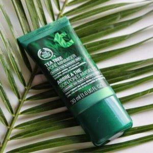 Kem dưỡng The Body Shop giảm lỗ chân lông Tea Tree Pore Minimiser, các nàng lỗ chân lông to chú ý!
